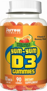 JARROW Yum Yum Witamina D-3 Gummies (90 żelek)