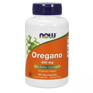 Now Foods Oregano 450mg - (100 kap)