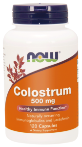 NOW Foods Colostrum 500 mg – Kolostrum (120 kap)