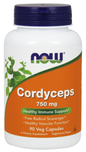 NOW Foods Cordyceps 750mg (90 kap)