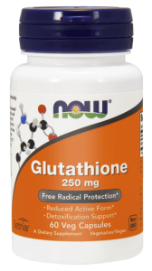 NOW Foods Glutathione 250 mg (60 kap)