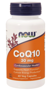 NOW Foods Koenzym Q10 30 mg (120 kap)