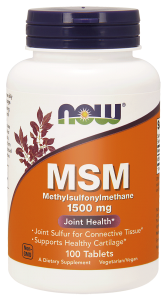 NOW Foods MSM 1500mg (200 tab)