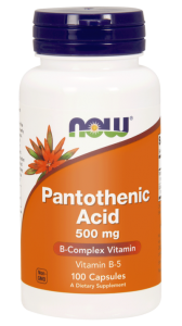 NOW Foods Pantothenic Acid (Kwas pantotenowy )500 mg (100 kap)
