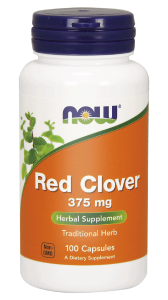 NOW Foods Red clover 375mg (100 kap)