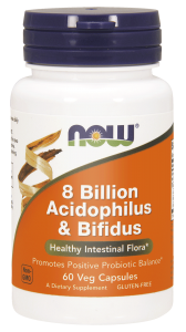 NOW Foods Acidofilus i Bifidus, (60 kap)