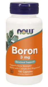 NOW Foods Boron 3 mg (100kap)