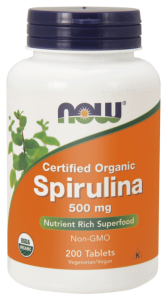 NOW Foods Spirulina 500 mg (200 tab)
