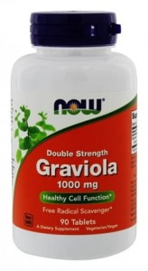 NOW Foods Graviola 1000mg (90 tab)