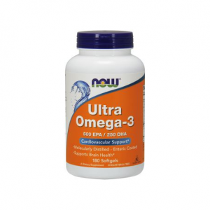 NOW Foods Ultra Omega 3 (180 kap)