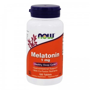 NOW Foods Melatonin 1 mg (100 kap)