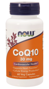 NOW Foods Koenzym Q10 30 mg (60 kap)