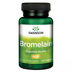 Swanson Bromelina 100mg - (100 tab)(data do 30,08,2020r)