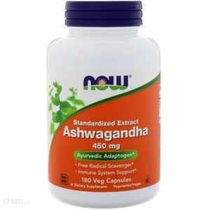 NOW Foods Ashwagandha - 450mg - (180 kap)