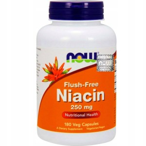NOW Foods Niacyna Flush-Free 250mg (180kap)
