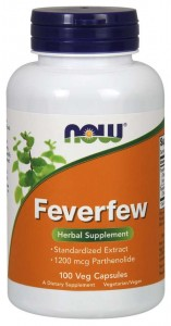 NOW Foods Feverfew – Złocień maruna (100 kap)