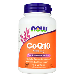 Now Foods koenzym 100 mg (150 kap)