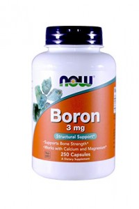 NOW Foods Boron 3 mg (250 kap)