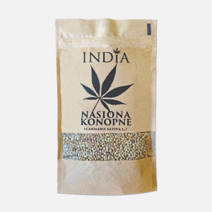 India nasiona konopne  (cannabis satival) 250 g(data 04,09,2020)