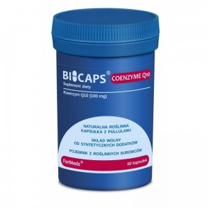 Formeds Bicaps koenzym q10 100 mg (60 kap)data do 31,07,2021