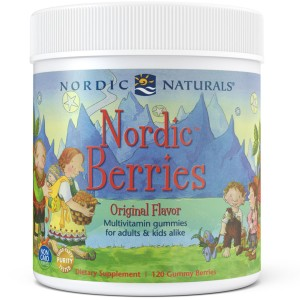 Nordic Naturals NORDIC BERRIES  Multivitamin (120 żelek)
