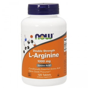 Now Foods L-Arginine Double Strength 1000mg - (120 tab)