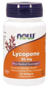 NOW Foods Lycopene 20 mg (50 kap)