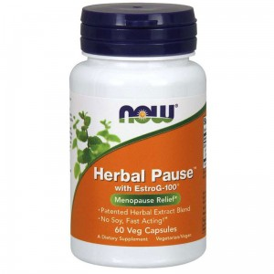 NOW Foods Herbal Pause  (60 kap)
