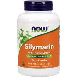 Now foods  Silymarin Milk Thistle Extract 113 g(data do 02,2021r)