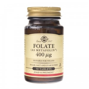Solgar  Folate Foliany 400 mcg ( 50 tab)