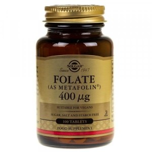 Solgar  Folate Foliany 400 mcg ( 100 tab)