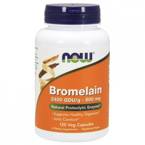 NOW Foods Bromelain ( Bromelina ) 500 mg (120kap)
