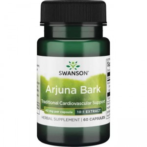 Swanson Full Spectrum Arjuna Bark 10:1 40mg - (60 kap)