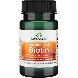 Swanson Biotyna do ssania - (60 tab)(data do 31,03,2021r)