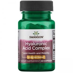 Swanson Hyal-Joint (Hyaluronic Acid Complex) 33mg - (60 kap)