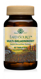 Solgar  Earth Source Multi składnikowy (60 tab)