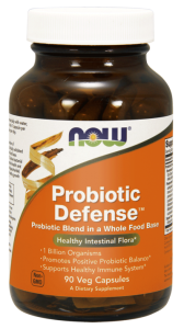 NOW Foods Probiotic Defense™ (90 kap)(data do 31,04,2021r)