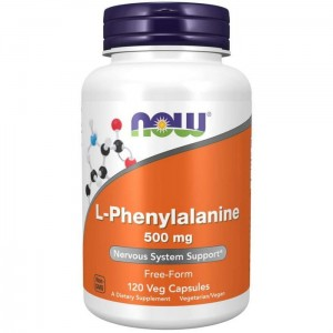 Now Foods L-Phenylalanine ( fenyloalanina) 500 mg - (120 kap)