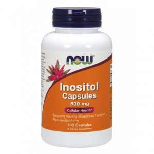 Now Foods Inozytol 500mg (100 kap)