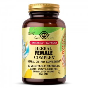 Solgar  Herbal Female Complex (50 kap)