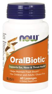 Now Foods OralBiotic™ (60 pastylek do ssania )