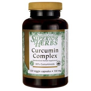 Swanson Curcumin complex 350mg  (120kap)(data do konca 09,2020r)