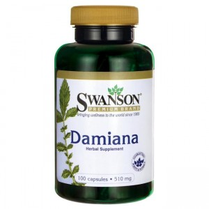 Swanson Damiana Leaves 510mg - (100 kap)