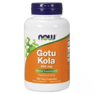 NOW Foods Gotu Kola 450mg - (100 kap)