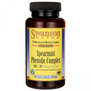Swanson Spearmint Phenolic  450mg - (60 kap)