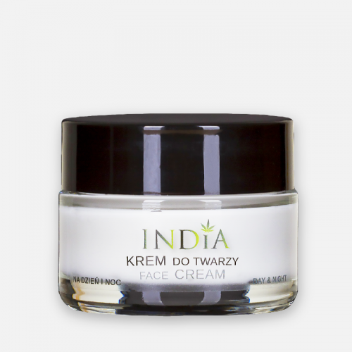 India krem do twarzy z olejem z konopi 50 ml .png